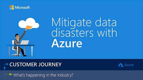 Mitigate Data Disasters with Azure - Infographic - Avvenire Inc