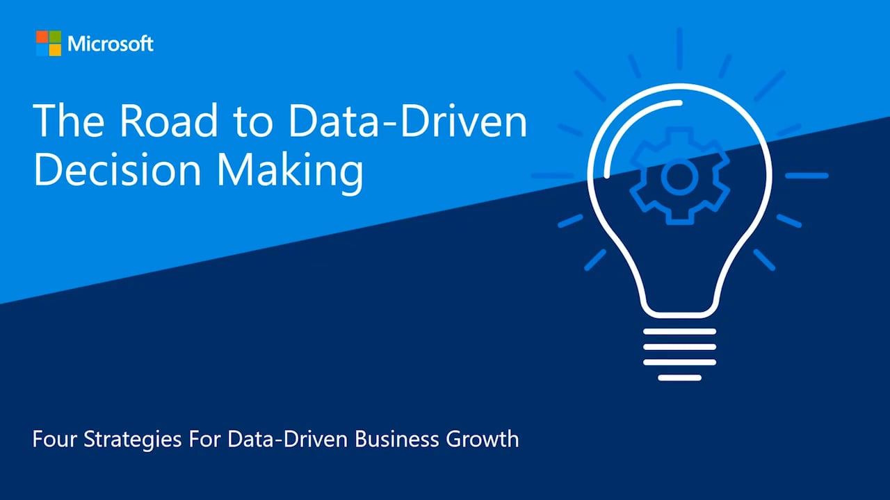 Road to Data-Driven Decision Making