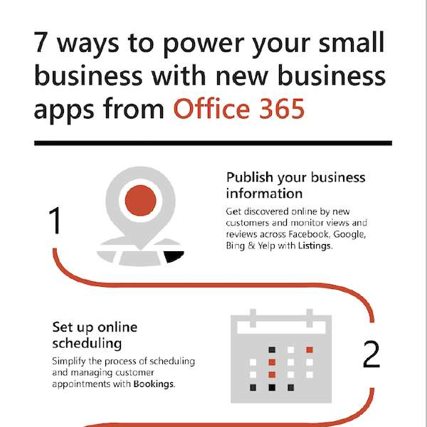 Seven ways to power your small business with new business apps from Office 365