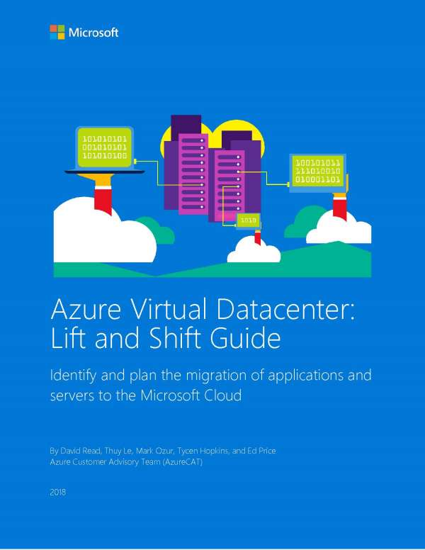 Azure Virtual Datacenter: Lift and Shift Guide